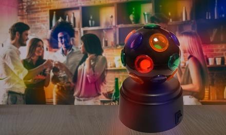 1 o 2 bolas de disco giratorias