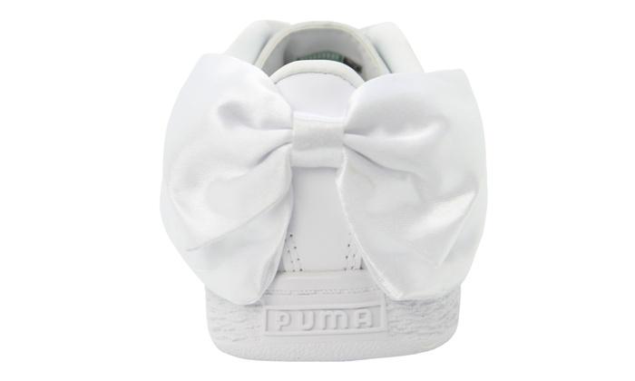 Puma Kinder Schuhe in Weiß und in der Größe nach Wahl