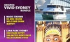 90-Min Vivid Cruise + Finger Food + Luna Park Bundle