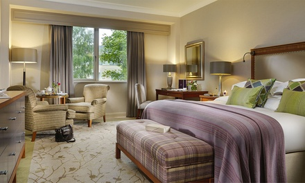 Co. Wicklow: 1 or 2 Nights with Prosecco, Breakfast, Dinner Credit and Spa or Golf Credit at 5* Druids Glen Resort