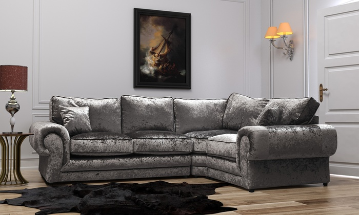 Madrid Medium or Large Corner Sofa in Choice of Design With Free Delivery for £499