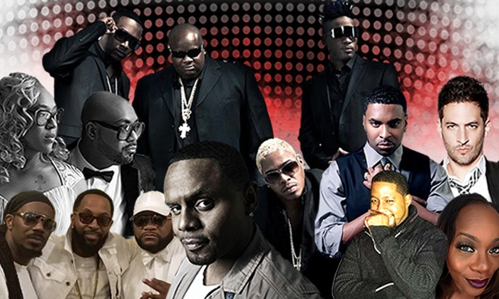 All Black Affair-Memorial Day Weekend R&B Fest w/ Ginuwine, Dru Hill, Carl Thomas & More on Friday, May 25, at 7:30 p.m.