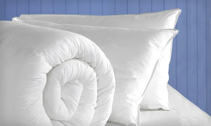 Microfibre Gel Pillow Sets: $39 for Microfibre Gel Pillow Sets (Up to $69 List Price). Three Sizes Available. Free Shipping.