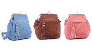Cleo Couture Sammy Quilted Backpack  at Cleo Couture Sammy Quilted Backpack, plus 9.0% Cash Back from Ebates.