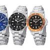 Stührling Original Men's Stainless Steel Bracelet Watch with Date