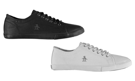 Penguin Lace-Up Trainers