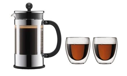 Caffettiere Bodum con bicchieri