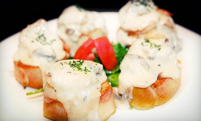 Maestro Restaurant - Civic Center: $44 for a Three-Course French Dinner for Two at Maestro Restaurant (Up to $88 Value)