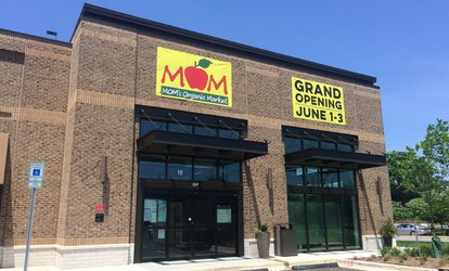 $15 for $30 Worth of <strong>Groceries</strong> at MOM'S Organic Market - Gaithersburg