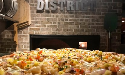$12 for $20 Towards American Food and Drinks at The District