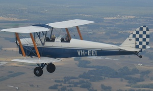 Hunter Valley Vintage Wings: $149 for 15-Minute Tiger Moth Biplane Flight with Hunter Valley Vintage Wings (Up to $240 Value)
