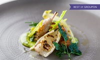Three-Course Menu Du Jour Lunch with Champagne and Coffee at 4-AA Rosettes Chapter One Restaurant (40% Off)