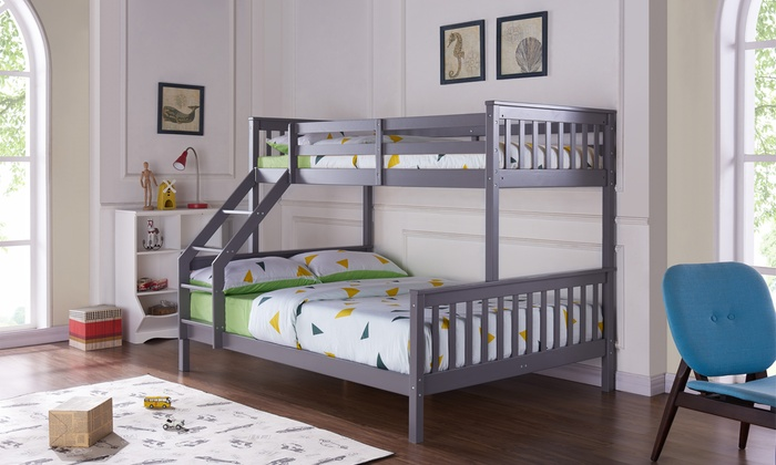 Cygnus Triple Bunk Bed with Head and Footend