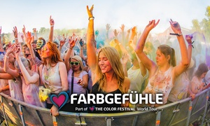 The Color Festival: 2 Tickets für das Farbgefühle Festival im Sommer 2018 in Berlin, Leipzig oder Erfurt (bis zu 50% sparen)