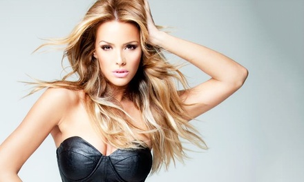 $368 for 18-Inch Human Hair Extensions from Erika Cortez - Hair Extensions ($700 Value)