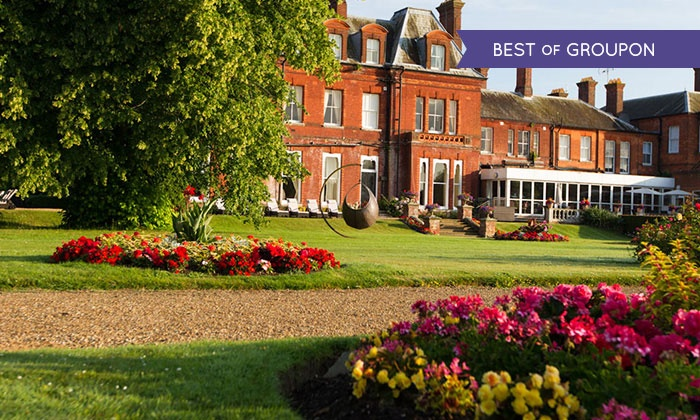 Champneys Tring - Wigginton: Champneys Tring: Spa Day with Meals, Choice of Treatment and Unlimited Access to Thalassotherapy Pool (Up to 44% Off)
