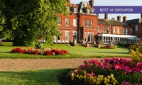 Champneys Tring: Spa Day with Meals, Choice of Treatment and Unlimited Access to Thalassotherapy Pool (Up to 44% Off)