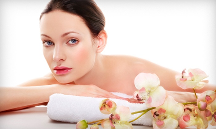 Anti-Aging Center - The Lakes/Country Club: Microdermabrasion and Hydrating Eye Treatment or Power Body Wrap at Anti-Aging Center