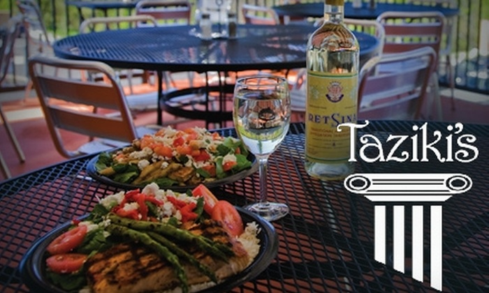 Taziki's - Midtown: $10 for $20 Worth of Fresh Fare and Drinks at Taziki's