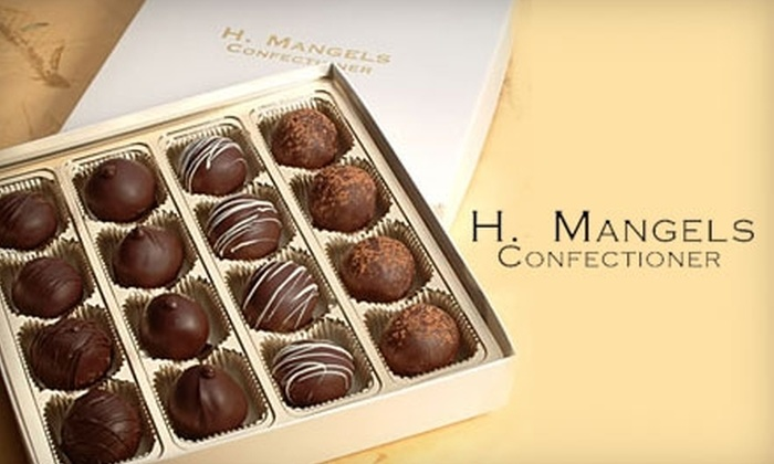 H. Mangels Confectioner - Downtown / Harbor / Post Road South: $14 for a Box of 16 Homemade Truffles at H. Mangels Confectioner in Milford ($28 Value)