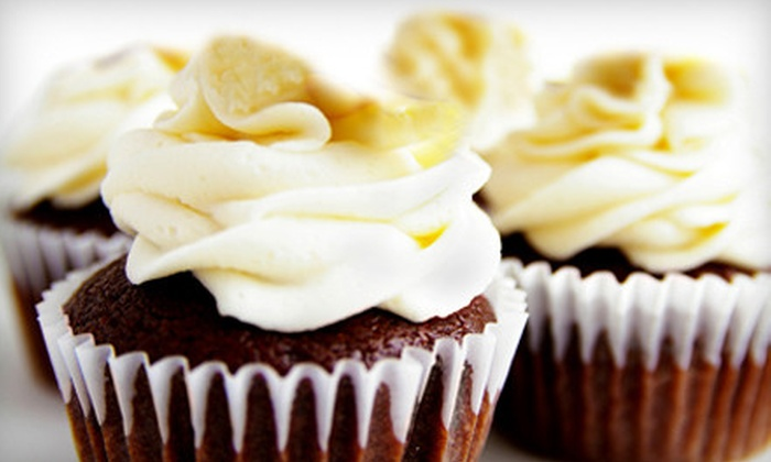 Gourmet Desserts - Athenia: One, Two, or Three Dozen Cupcakes at Gourmet Desserts in Clifton (Up to 63% Off)