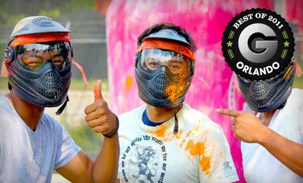 Paintball Outing for 1 (a $50 value) - Orlando Paintball in Orlando