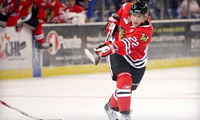 Portland Winterhawks - Lloyd District: $36 for Two Tickets to Portland Winterhawks Hockey Game and Two Hats ($105 Value). Two Dates Available.