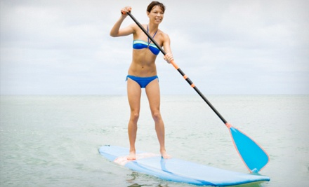 4-Hour Standup-Paddleboard Rental for 1 (a $45 value) - Lakeshore Kayak Rental in Grand Haven
