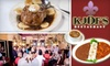 K-Joe's Cajun & Creole Cuisine - CLOSED - French Quarter: $20 for $40 Worth of Classic New Orleans Fare at K-Joe's Cajun & Creole Cuisine