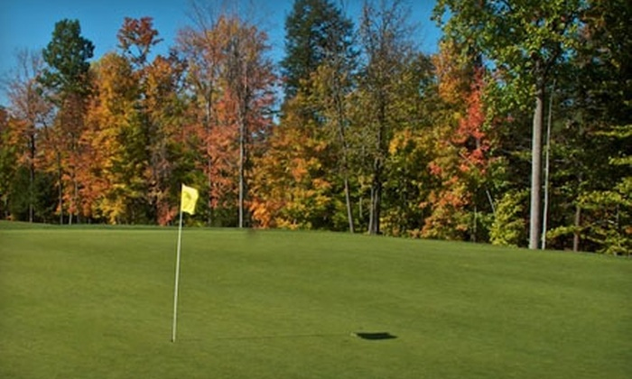 Whispering Woods Golf Club - Millcreek: $49 for a Round of Golf Plus Cart Rental for Two at Whispering Woods Golf Club