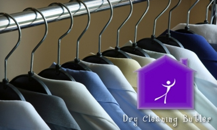Dry Cleaning Butler - Boise: $30 for $60 Worth of Pick-Up and Delivery Dry Cleaning Over Two Months from Dry Cleaning Butler