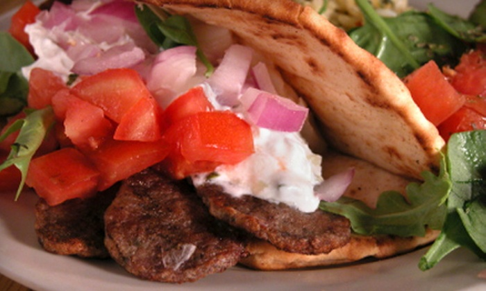 Sparta Greek Grill - Baranow: $5 for $10 Worth of Greek Fare and Drinks at Sparta Greek Grill