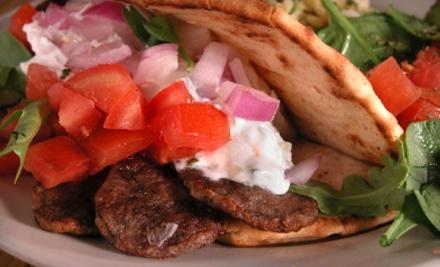 $10 Groupon to Sparta Greek Grill - Sparta Greek Grill in Edmonton
