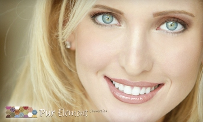 Pur Element Cosmetics: $25 for $50 Worth of Mineral Cosmetics and Accessories from Pur Element Cosmetics