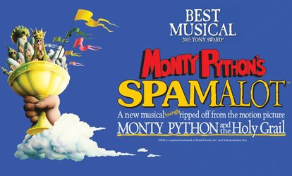 image for Spamalot, 21–15 November at New Wimbledon Theatre (Up to 77% Off)