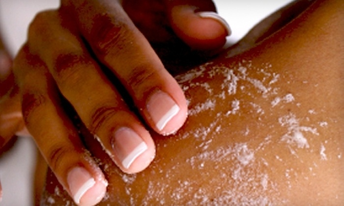 Serenity Day Spa - Flossmoor: $69 for a Back Massage, Aromatherapy Body Scrub, and Foot Massage at Serenity Day Spa in Flossmoor ($140 Value)