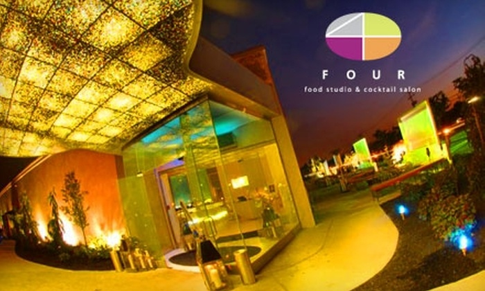 Four Food Studio and Cocktail Salon - Melville: $15 for $30 Worth of Eclectic Entrees, Cocktails, and More at Four Food Studio and Cocktail Salon