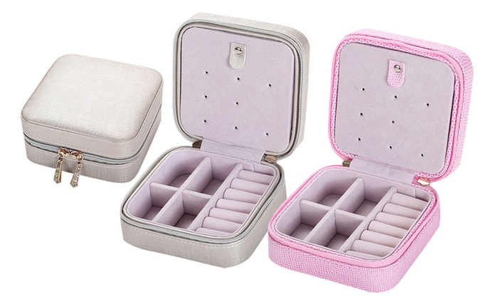 Mini Jewelry Box Organizer Groupon Goods