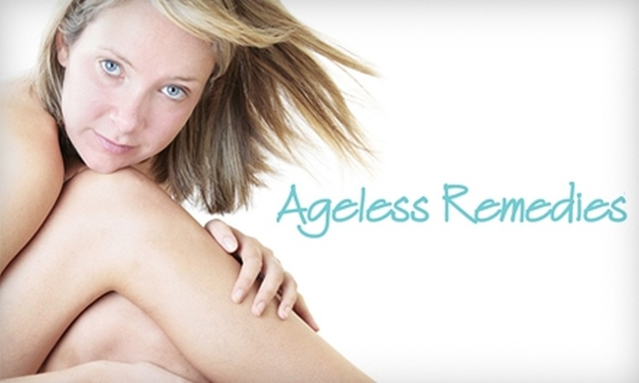 Ageless Remedies - Athens-Clarke County unified government (balance): $109 for Four Laser Hair-Removal Treatments at Ageless Remedies (Up to $700 Value)
