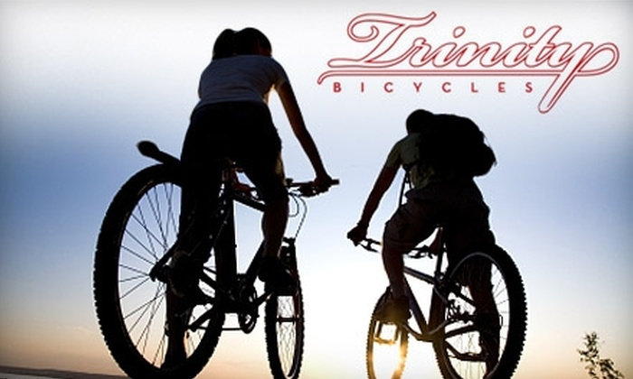 Trinity Bicycles - Fort Worth: $12 for a Four-Hour Bicycle Rental from Trinity Bicycles ($25 Value)