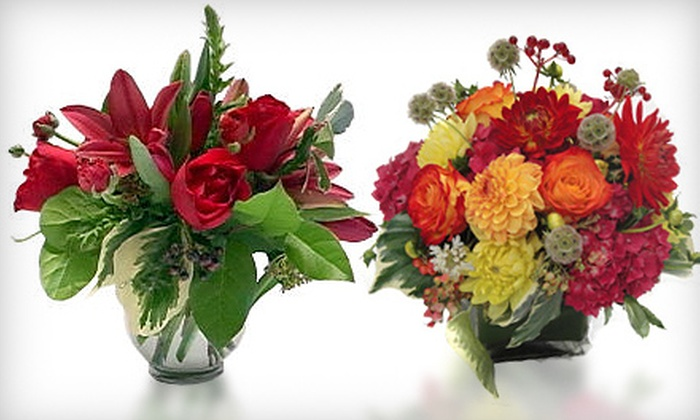Jane's Roses, Flowers and Events - Mission Bay: Floral Arrangements from Jane's Roses, Flowers and Events (Up to 53% Off). Two Options Available.
