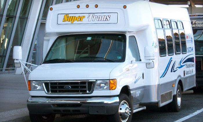 Super Trans - Far Northeast Philadelphia: One-Way or Round-Trip Shuttle from Philadelphia to New York City (JFK) or Newark, New Jersey Airport from Super Trans (Half Off)