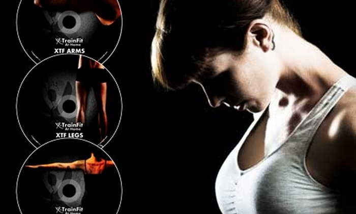X-TrainFit: $45 for Eight Total-Body Conditioning DVDs from X-TrainFit ($155.94 Value)