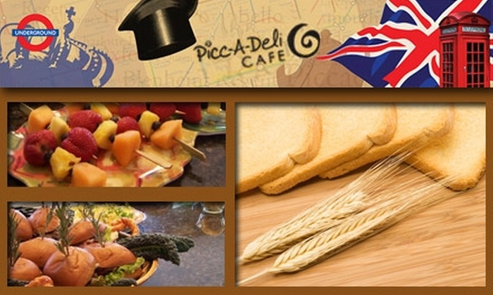 Picc-A-Deli Cafe - Westlake: $7 for $15 Worth of Healthful Breakfasts and Lunches at Picc-A-Deli Café