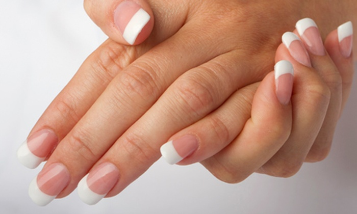 Smashing Nails - Downtown: Spa Manicure, Gelish No-Chip Manicure, or Sculpted Acrylic Nails at Smashing Nails (Half Off)