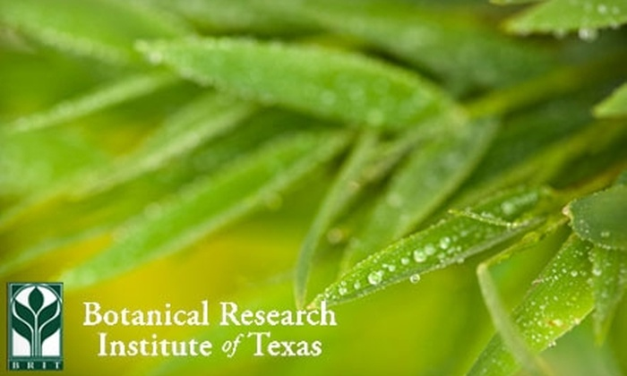Botanical Research Institute of Texas - Downtown Fort Worth: $20 Annual Partner-Level Membership at the Botanical Research Institute of Texas ($50 Value)