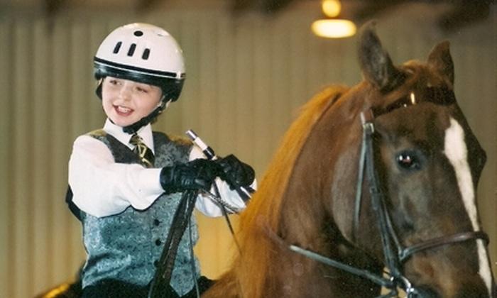 Timbermist Farm - Pleasant Hill: $59 for Three Horseback-Riding Lessons at Timbermist Farm in Pleasant Hill ($120 Value)