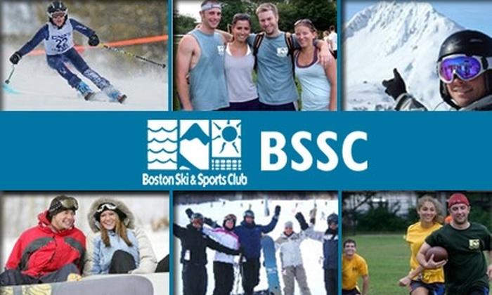 Boston Ski & Sports Club - Boston: $30 for a One-Year Membership to Boston Ski & Sports Club ($65 value)