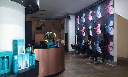 image for Cut or Restyle, Blow-Dry and Deluxe Treatment at Nicky Oliver (63% Off)