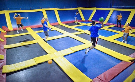 2 Hours of Jump Time Valid Mon.-Thurs. - Sky High Sports in Naperville